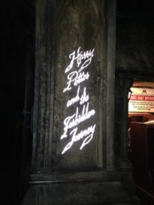 The entrance to Harry Potter and the Forbidden Journey