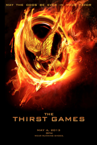 The Thirst Games Poster